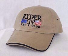 *VINTAGE* RYDER CUP 2006 THE K CLUB Ireland GOLF HAT CAP *IMPERIAL HEADWEAR*