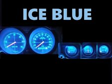 Gauge Cluster LED Dashboard Bulbs Ice Blue For Ford 74 78 Mustang II
