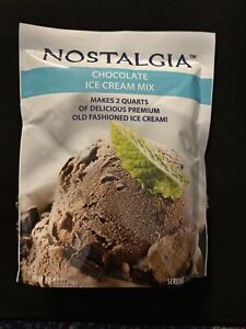 Nostalgia Chocolate Ice Cream Mix 8oz