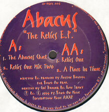 Abacus – The Relics E.P Prescription – PRES106 - Usa 1994