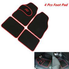 4x Universal Car Floor Mat Accessories Styling Custom Foot Prevent Wear Heel Pad