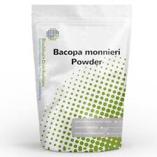 Bacopa Monnieri estratto 50% 100 G-nootropo, Anti-Ansia, antidepressivo