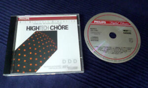 CD PHILIPS High Tech Chöre Hifi Vision Referenz PDO West Germany 1989 Audio Test