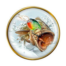 Angling, Fishing Pin Badge