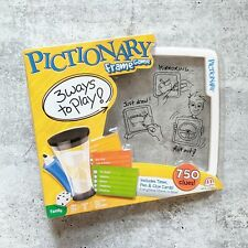 PICTIONARY Frame Game Night Drawing Sketching Fun Family Party Kids Mattel NEW