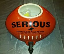 RARE COLLECTABLE AFL FOOTY FOOTBALL SHERRIN CERAMIC WATER DISPENSER DISPLAY ONLY