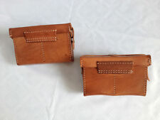 A Pair Of WWII Ija Japanese Military Type38 Ammo Front Pouch -JP003