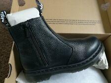 Genuine Dr Martens 2976 Chelsea Zip Black AuntSally Leather Boot UK 5 EU 38 £149