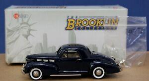 Brooklin FS8 131AX 1:43 1938 Cadillac 60 Coupe Midnight Blue Ltd Ed 600 MIB DB