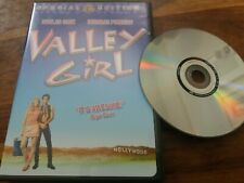 Valley Girl Nicholas Cage Special Edition Rare US R1 NTSC Double Sided DVD Mint