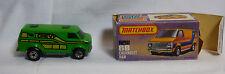 """Matchbox - Superfast - Nr. 68 Chevy Van grün """"Chevy""""  -OVP -"""