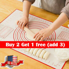 Non-stick Silicone Rolling Pad Cake Dough Mat Pastry Clay Mat Cooking Tools