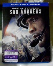 San Andreas (Blu-ray/DVD, 2015, 2-Disc Set)