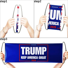 2020 President Election Hand Held Flag Trump Bumper Stickers Flag For Supporting
