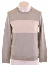 HOLLISTER Mens Sweatshirt Jumper Small Grey Cotton  NB29