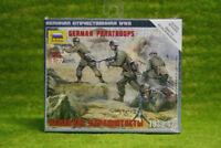 Zvezda GERMAN PARATROOPS 1939-1942 1/72  6136