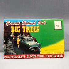 Vintage Yosemite National Park Big Trees Postcard Book 12 Photos jds