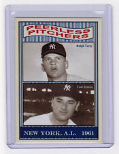 Ralph Terry & Luis Arroyo '61 New York Yankees Pitchers 50th Anniversary set #6