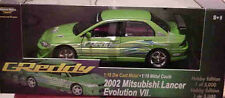 2002 Mitsubishi Lancer GREEN 1:18 Ertl American Muscle 33483