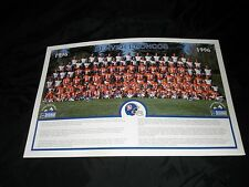 VINTAGE DENVER BRONCO'S 1996 TEAM POSTER FORD