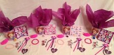 Lot Of 4 Princess Sofia The First Party Favor Ensembles