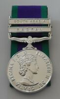 GSM Full Size Medal with Radfan & South Arabia Clasps, Loose, Swing, Court Mount
