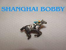 SHANGHAI BOBBY 2012 BREEDERS CUP HAND PAINTED HORSE RACING JOCKEY SILKS PIN
