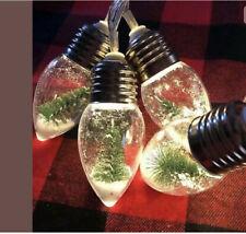 Target Bullseye Playground Christmas Tree Snow Globe String Lights 1 Pack