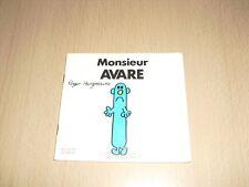 "Monsieur AVARE  Roger Hargreaves Collection ""Bonhomme"""