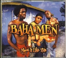 Baha Men-Move it like this 3 trk Maxi CD 2002