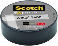 Scotch® Expressions Washi Tape 15mm x 10m