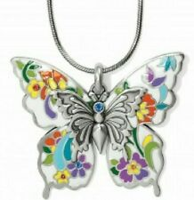 Brighton Belle Jardin Convertible Butterfly Large Pendant Necklace