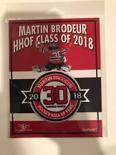 Martin Brodeur New Jersey Devils 2018 Hall Of Fame Patch
