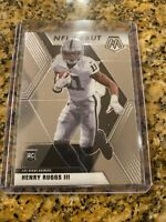 2020 Panini Mosaic Henry Ruggs III Rookie NFL Debut Base Prizm #269 RC Raiders