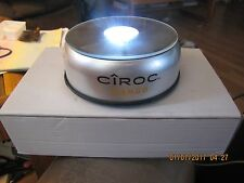 NEW BAR BACK BOTTLE GLORIFIER CIRCO MANGO LED LIGHTED BATTERY OR 120C PLUG