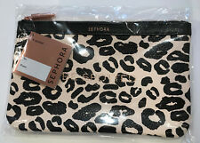 Rare! Sephora Collection BE SPOTTED Leopard Print Makeup Clutch Bag BNWT sealed