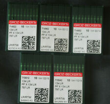 Leder Nadeln 134 LR GROZ-BECKERT 80//12 Maschinennadel PF X 134 LR OVP