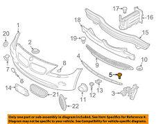 BMW OEM 03-08 Z4 Front Bumper-Upper Support Bolt 41352290799