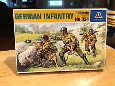 Italeri German Infantry Soldiers figures 1/35 Scale Kit 334
