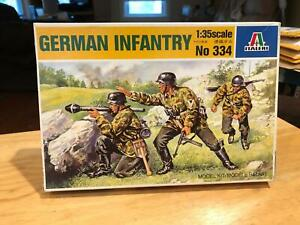 Italeri German Infantry Soldiers figures 1/35 Scale Kit 334