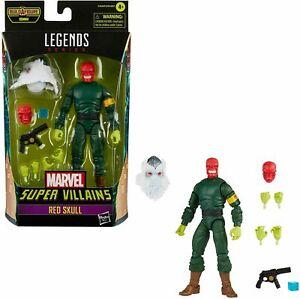 """Marvel Legends Super Villains RED SKULL 6"""" AF HASBRO - IN HANDS -"""