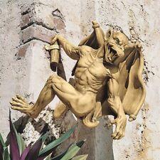 New Design Toscano Gaston the Climbing Gothic Gargoyle Statue: Large - Free Ship