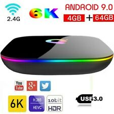 2020 Android 9.0 Smart TV Box Q-BOX Q+ Q Plus Amlogic Quad Core 4GB+64GB WIFI 6K