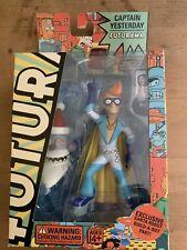 Futurama Captain Yesterday Series 4 Action Figure