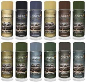 Army Spraydose Lack Armee Tarnfarbe Militär 400 ml MATT Farbspray Grundierung