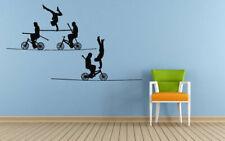 Vinyl Sticker Acrobats Cartoon Circus Nursery Mural Decal Wall Art Decor hi303