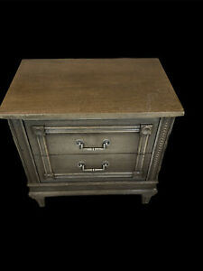 AMERICAN OF MARTINSVILLE  Two Drawer Nightstand 24x24x16