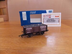 DAPOL 5-PLANK OPEN WAGON No 15 in JOHN DIMON YEOVIL Livery. Limited Edition