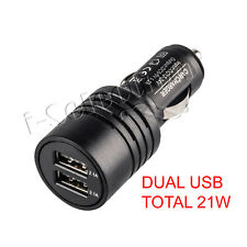 Universal Fast Dual USB Port Cigarette Car Charger Adapter 5v 4.2a / 2x 2.1a out