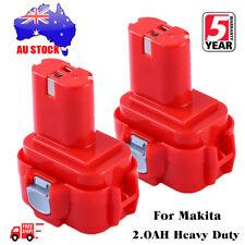 2X Ni-CD Battery for MAKITA 9120 9122 9120 9122 192596-6 9.6V 9.6 VOLT Drill NEW